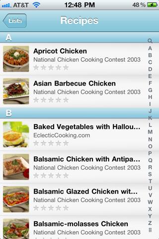 Recipe list idealstalist recipe list forumfinder Image collections
